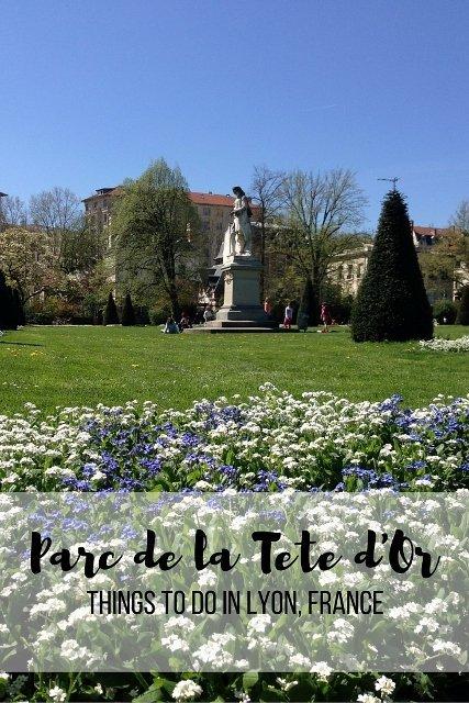 Parc de la Tete d'Or, Lyon, France