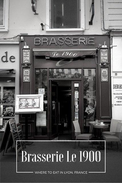 Brasserie Le 1900, Lyon, France
