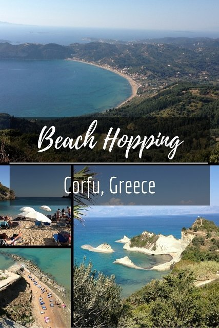 Beach Hopping in Corfu
