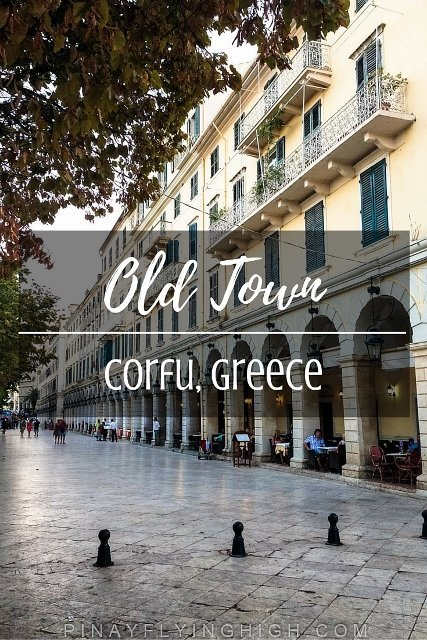 Old Town, Corfu, Greece