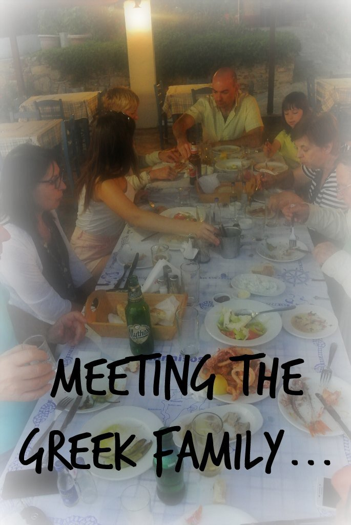 Meeting the greek family