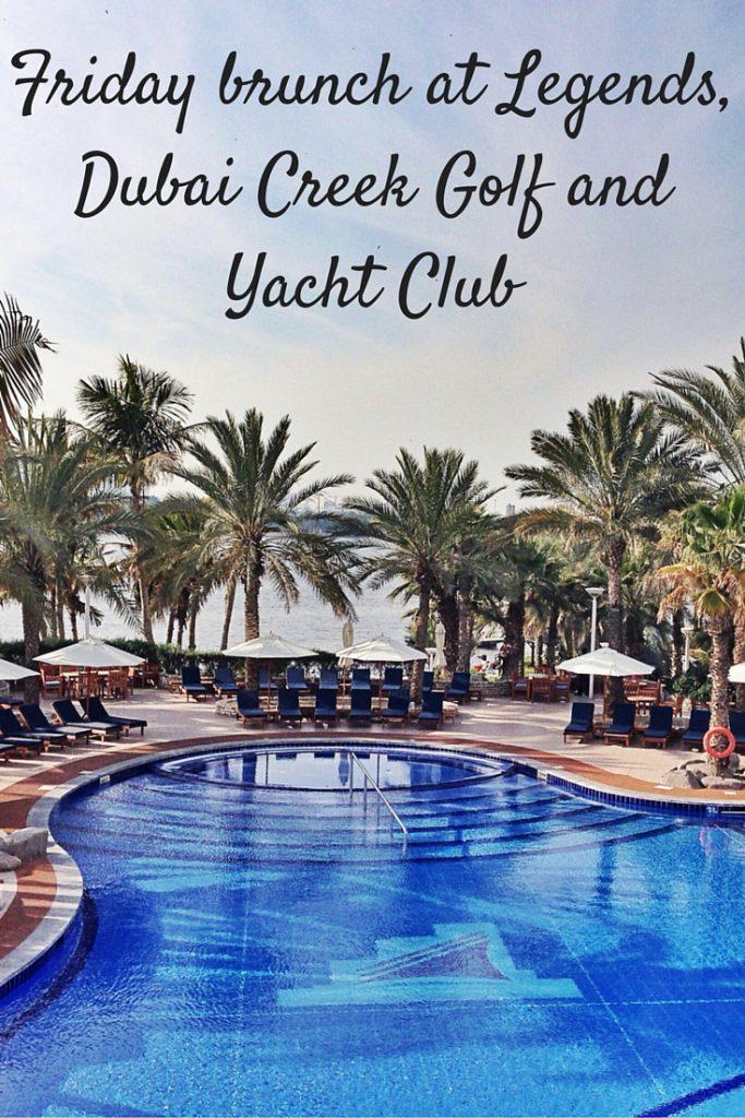 Friday brunch at Legends,Dubai Creek Golf and Yacht Club