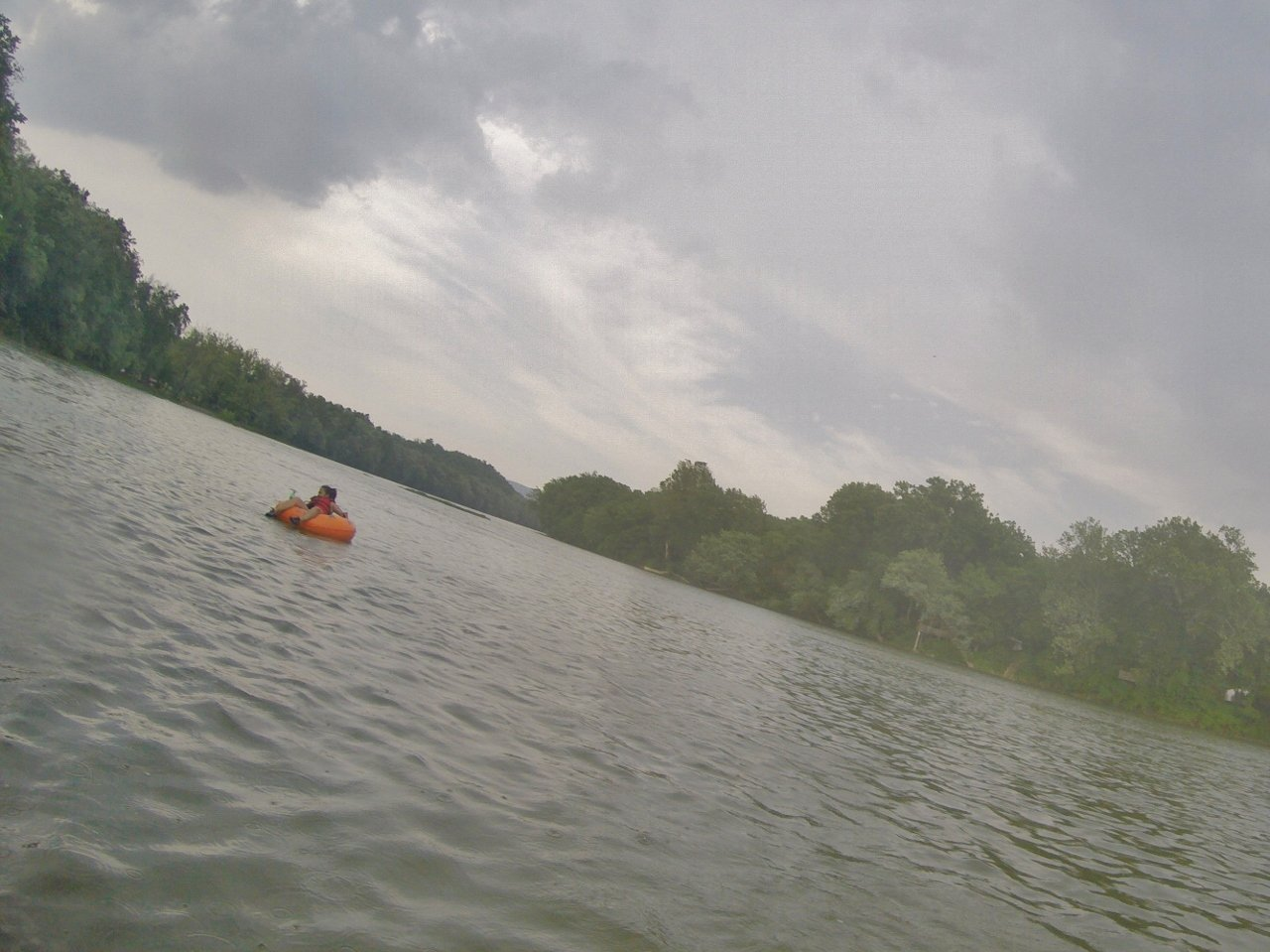 Tubing in Shenandoah River