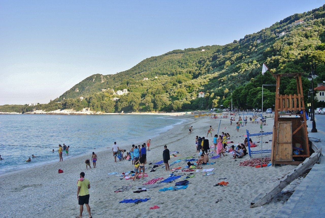 Papa Nero Beach, Pelion, Greece