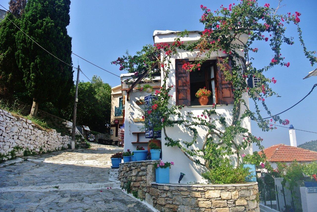 Old Chora of Alonissos, Greece