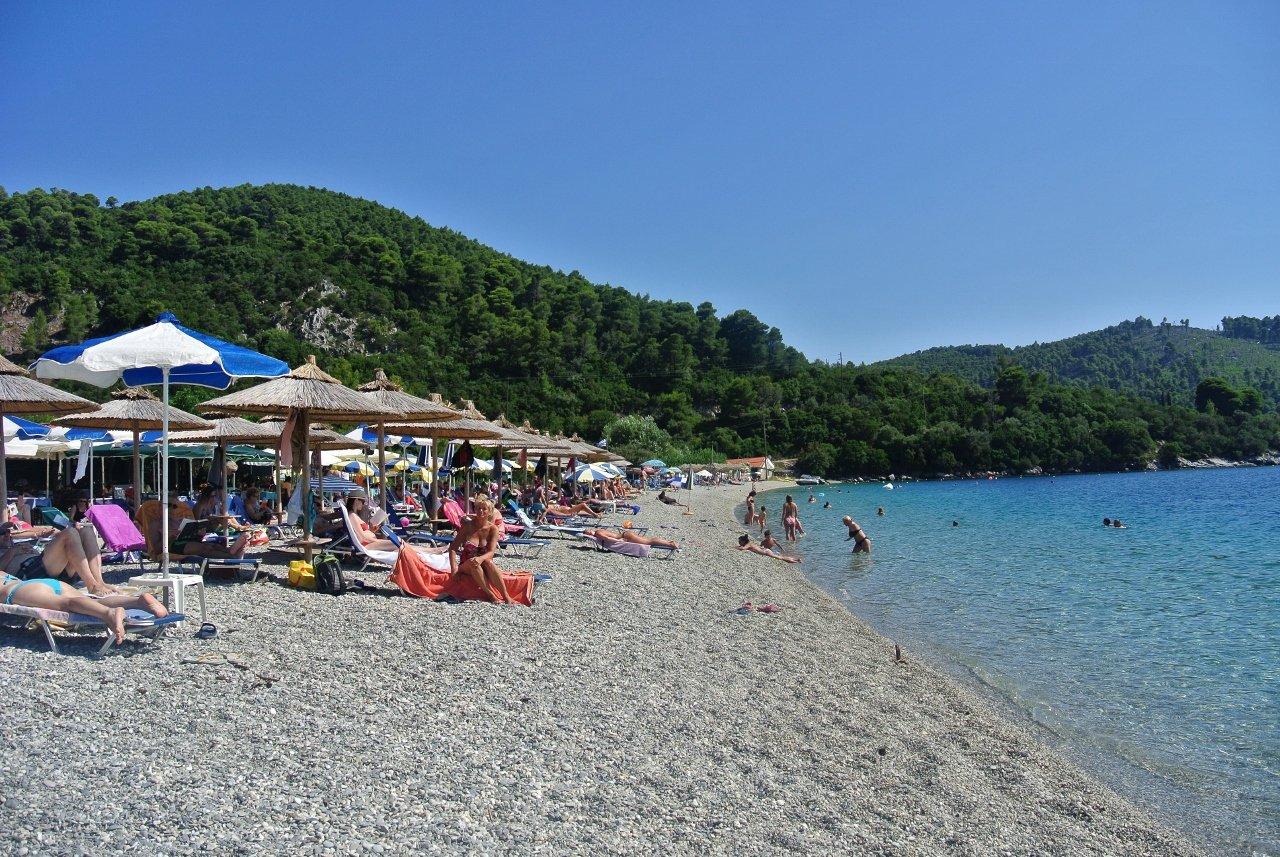 Panormos Beach, Skopelos, Greece