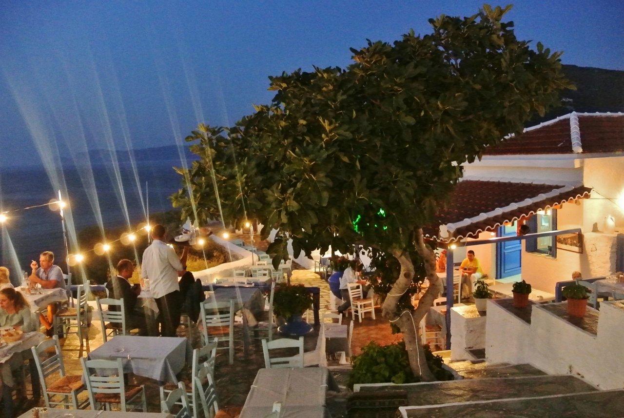 Anatolia Taverna in Skopelos Greece