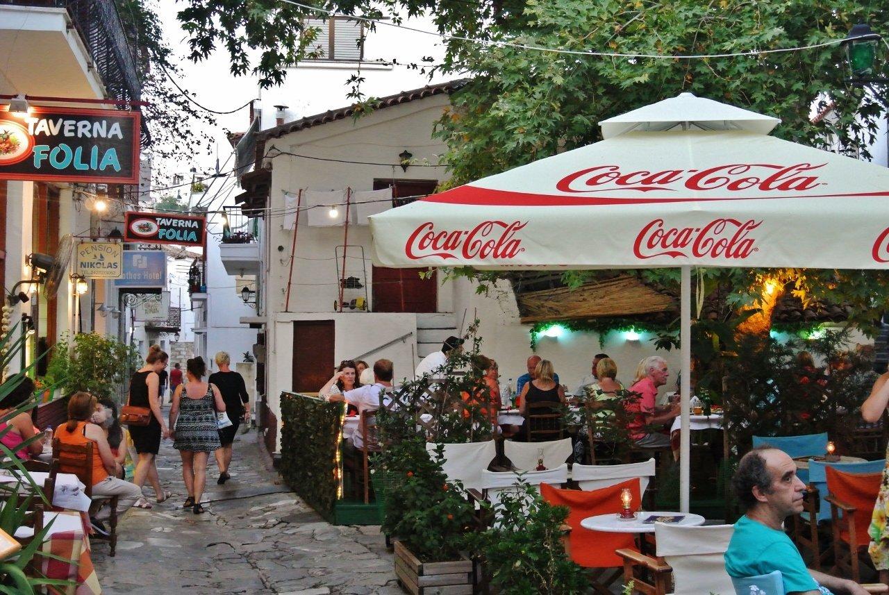 Taverna Folia, Skiathos, Greece