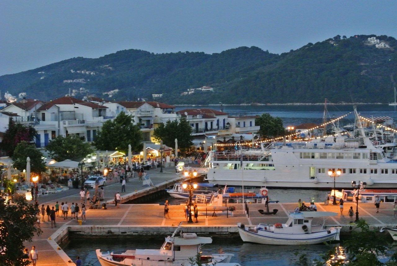Old Port, Skiathos Town, Greece