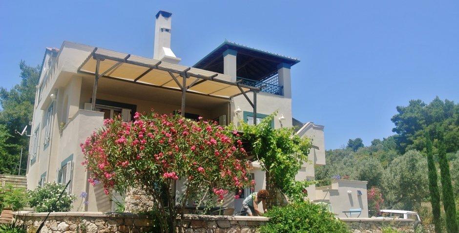Villa Flora in Alonissos, Greece