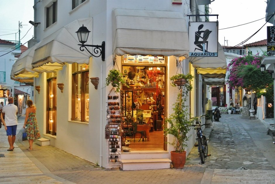 Skiathos Old Town, Greece