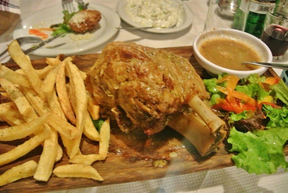 Kotsi, Greek dish