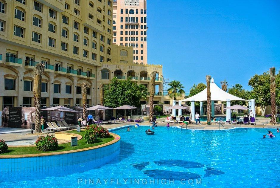 Pool and beach access Intercontinental Doha PinayFlyingHigh.com-23