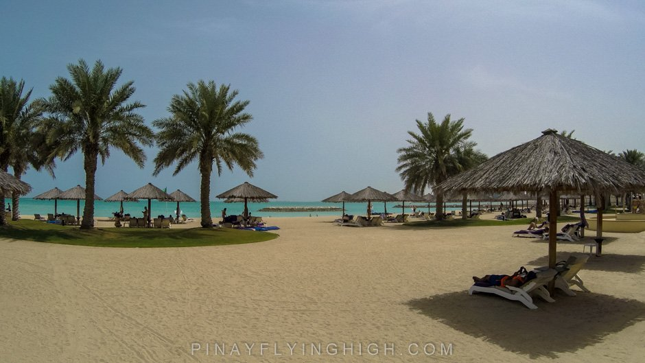 Pool and beach access Intercontinental Doha PinayFlyingHigh.com-60