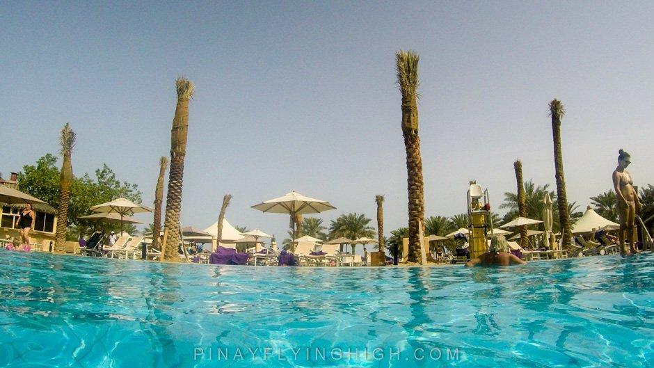 Pool and beach access Intercontinental Doha PinayFlyingHigh.com-76