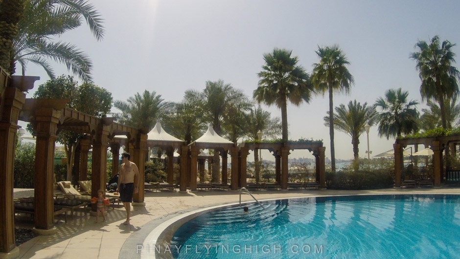 Pool and beach access at Four Seasons Doha, PinayFlyingHigh.com-36