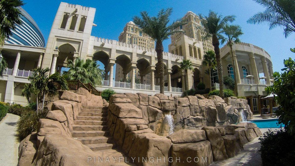 Pool and beach access at Four Seasons Doha, PinayFlyingHigh.com-4