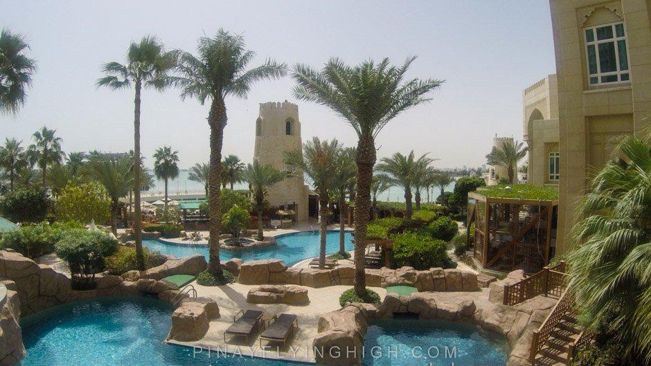 Pool and beach access at Four Seasons Doha, PinayFlyingHigh.com-40