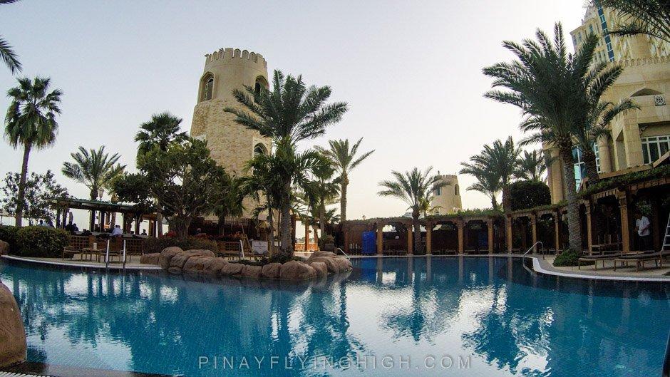 Pool and beach access at Four Seasons Doha, PinayFlyingHigh.com-64