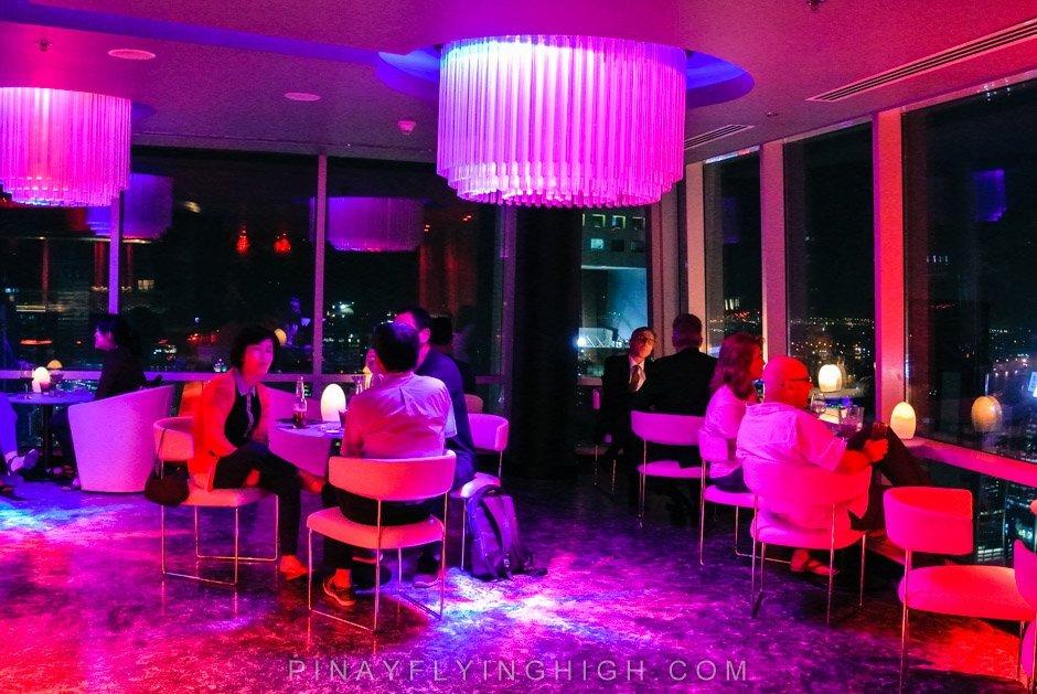 Strata Restaurant and Lounge, Intercontinental Doha The City, PinayFlyingHigh.com