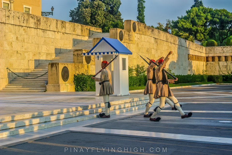 CHANGING OF THE GUARDS, Athens, Greece PinayFlyingHigh.com-6