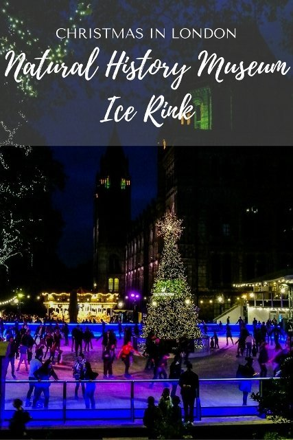 Natural History Museum Ice Rink, Christmas in London - PinayFlyingHigh.com