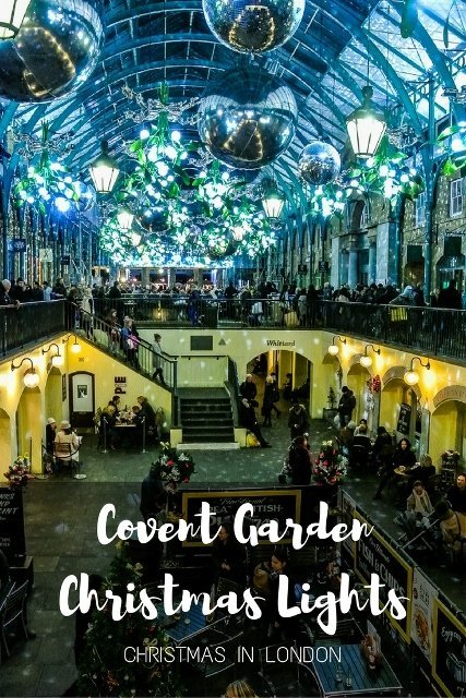 Covent Garden Christmas Lights, London - PinayFlyingHigh.com