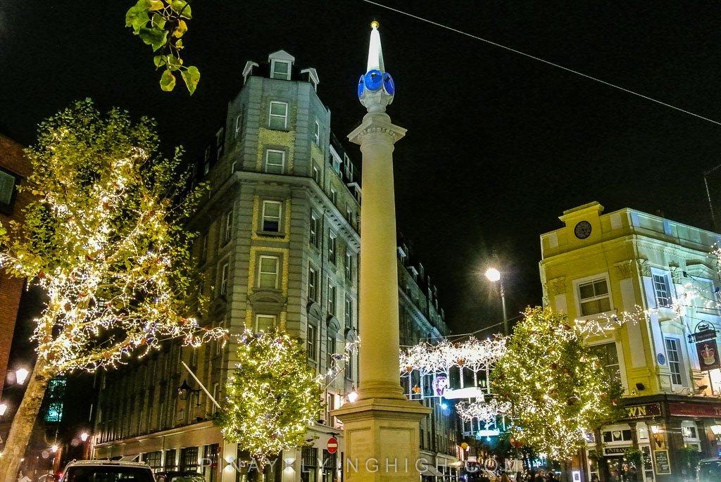 Seven Dials Christmas Lights, London - PinayFlyingHigh.com