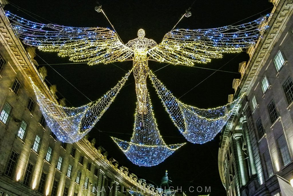 Regent Street Christmas Lights, London - PinayFlyingHigh.com