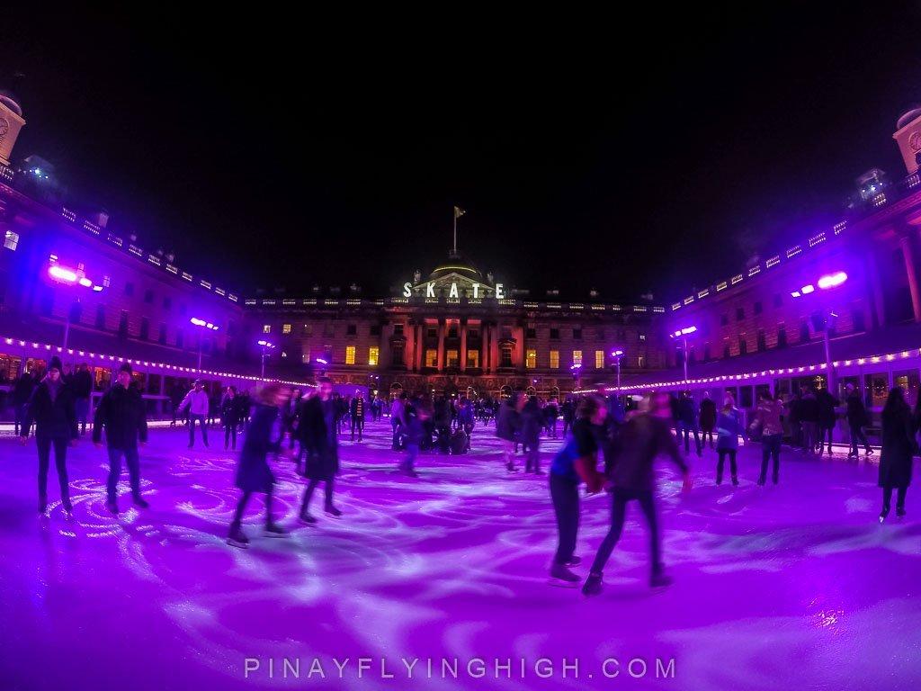Skate at Somerset House, London - PinayFlyingHigh.com