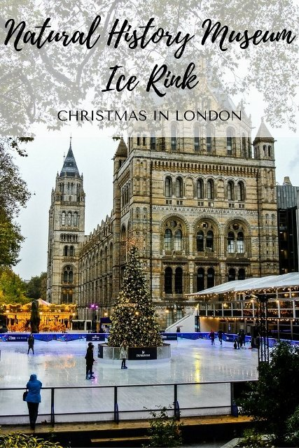 Natural History Museum Ice Rink During The Day - PinayFlyingHigh.com