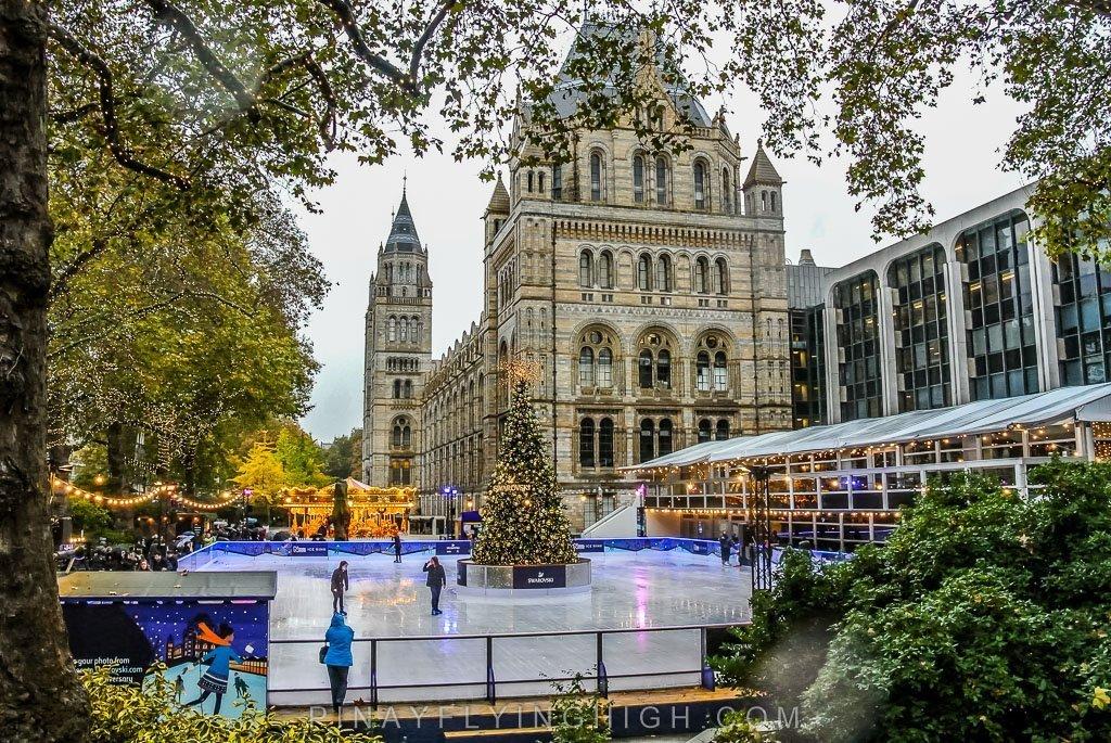 Natural History Museum Ice Rink, London - PinayFlyingHigh.com