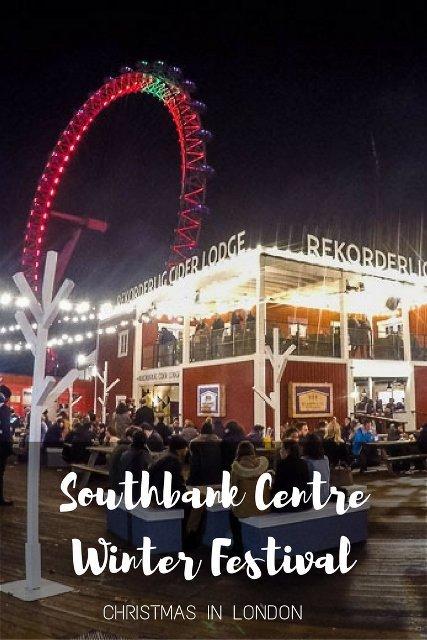 SOUTHBANK CENTRE WINTER FESTIVAL, LONDON - PINAYFLYINGHIGH.COM